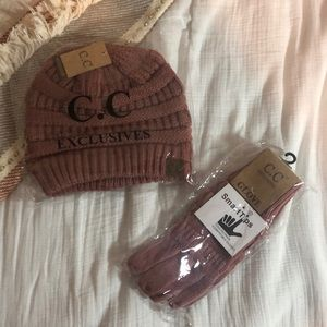 C.C. Beanie and Gloves Set